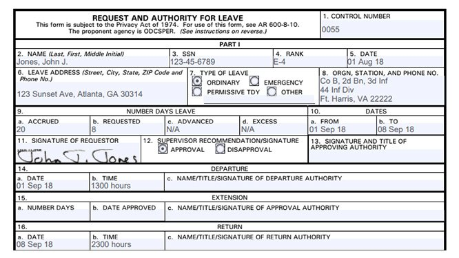 08efae0aa51f9630bab63977a5fd8de479af3bf6 Da Form Permissive Tdy Example on language for leave form, leave form, da 31 army, usaf pdf, who signs, for pcs, block 17 army, for civilians,