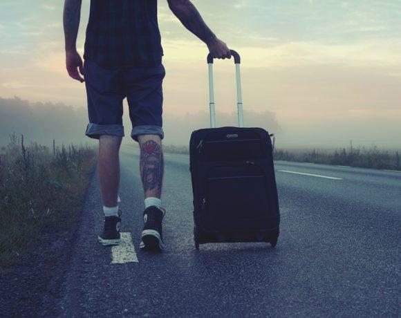 Excursionistas, Viajero, Viaje, Viajes, Hombre, Va