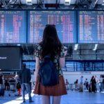 Airport, Transport, Woman, Girl, Tourist, Travel